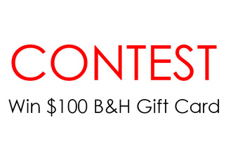Photography Contest - Win $100 B&H Gift Card!