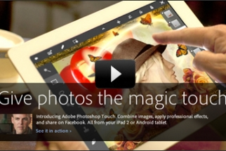 [News] Photoshop Touch Now Available for iPad 2