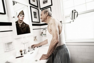 Reflections: Portraits of the Elderly as They Once Were