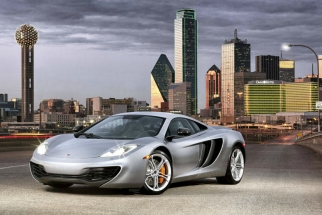 [BTS Video] McLaren MP4-12c - Dallas Street Shoot