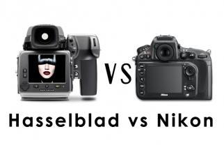 [Video] The Nikon D800 Vs Hasselblad H4D-40