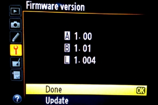Nikon's D4 & D800 1.01 Firmware Update Fixes Lockup Issue