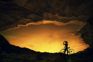 Awesome Silhouette Portraits At Sunset