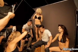 Behind Charlie Sheen's Rolling Stone Cover Shoot (NSFW:language)
