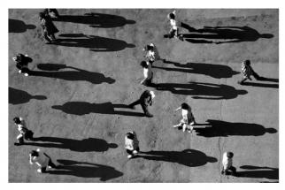 Unusual Yet Eye-Catching Symmetrical Shadow Photography