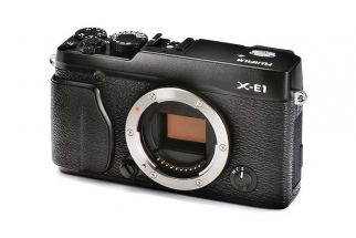 Leaked Images Show  Viewfinder-less New Fujifilm X-E1
