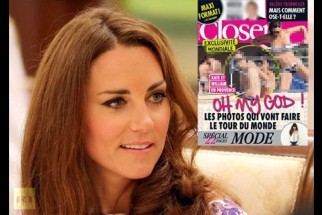 French Magazine Publishes Princess Kate Sunbathing Topless