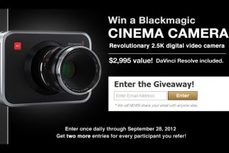 Fstoppers and PremiumBeat.com Are Giving Away A Blackmagic Cinema Camera