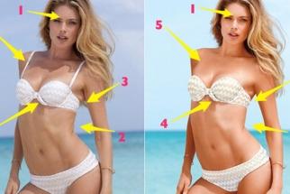 Victoria's Secret Revealed - Unretouched vs. Retouched Photos