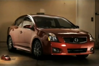 Nissan Shoots Their Cars Miniature Style