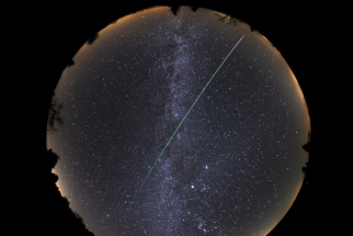 The Entire Night's Sky Captured with an 8mm Fisheye