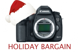 DEAL: $400 Off Brand New Canon 5D Mark III
