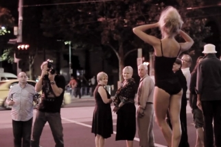Behind The Scenes With Peter Coulson As He Shoots A Model In The Streets Of Melbourne