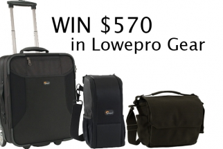 We're Giving One Winner $570 In Lowepro Bags