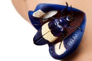 Sweet BTS Video of Unusual Beauty Shoot With Beetles