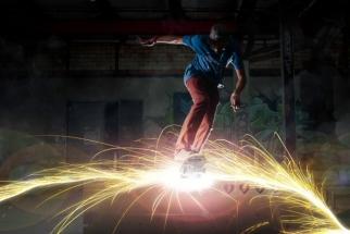 Skateboarding + Fireworks = Quality BTSV