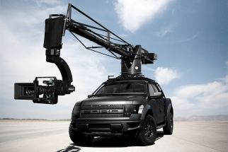 Filming A Ford Fusion Ad With A Badass Custom Raptor Camera Truck