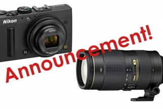 Nikon 80-400mm f/4.5-5.6 and CoolPix A Now Available For Pre Order
