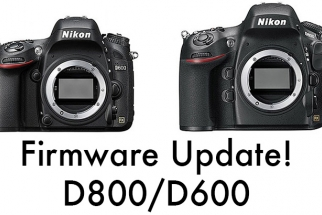 [Updated] Nikon Updates D600 and D800(E) Firmware