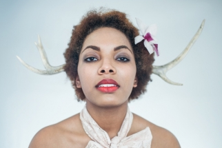 Behind the Scenes of an Avant-Garde Hair Shoot