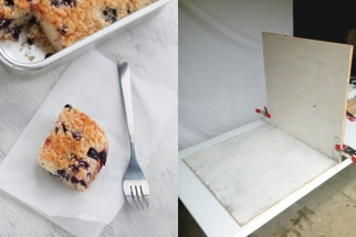 A Small and Portable Food Photography Studio
