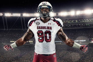 Behind the Scenes of South Carolina Gamecocks' Photoshoot