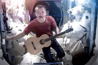 Space Oddity: Chris Hadfield Makes First Ever Music Video from Space