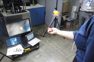Dynamic Target Tracking Camera Can Follow Fast Moving Objects