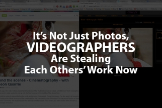 Videographers Must Help One Another Out To Combat Thieves in the Industry