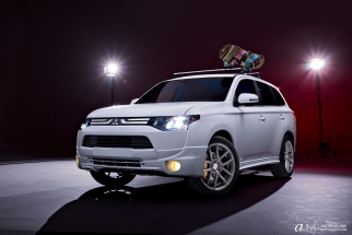 Studio Lighting for Cars