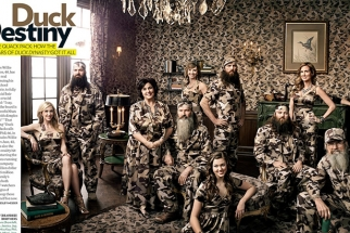See How Art Streiber Photographed the Cast of Duck Dynasty