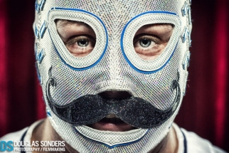 Luchador Fighter Portrait Series Behind The Scenes