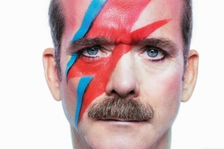 Christopher Wahl Shoots a Bowie-Inspired Cover of Chris Hadfield