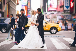 Wedding Photographer Gets Photobombed by Celebrity in NY