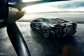 Mansory Carbonado: Making Of A Crazy Lamborghini Photoshoot
