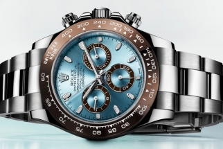 Brilliant Time-Lapse Video On Retouching A Rolex Watch