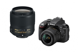 Nikon Announces New 35mm F/1.8G ED Lens & D3300 DSLR