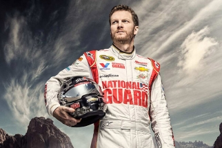 Dale Earnhardt Jr Nascar Photoshoot by Douglas Sonders