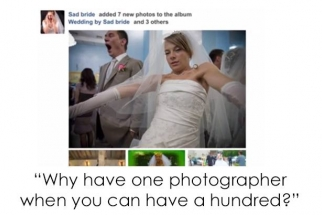 Facebook Encourages Brides to Ditch Having a Professional Wedding Photographer