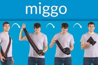 Miggo: Camera Strap That Morphs Into a Camera Case