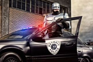 The Robocop Photoshoot By Douglas Sonders