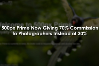 500px Prime Now Giving 70% Commission to Photographers Instead of 30%