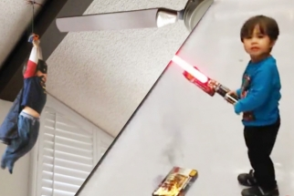 This DreamWorks Animator Is Using His VFX Skills To Turn His Son Into a Superhero