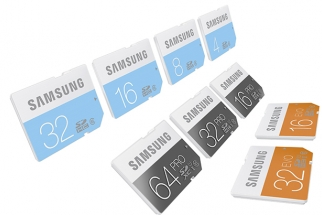 Samsung Jumps Out into the SD / microSD Card Space with Color-Coded Line