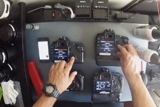 Video Shows How a Wedding Photographer Preps His Equipment