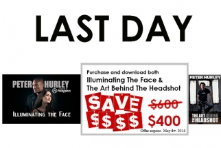 Last Day To Save $200 On Peter Hurley Tutorials