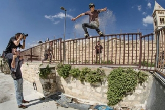 Ben Von Wong Photographs Extreme Sports on the Walls of Jerusalem