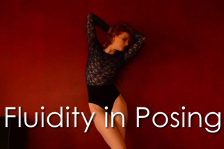 Model Shantia Veney Demonstrates Fluidity in Posing