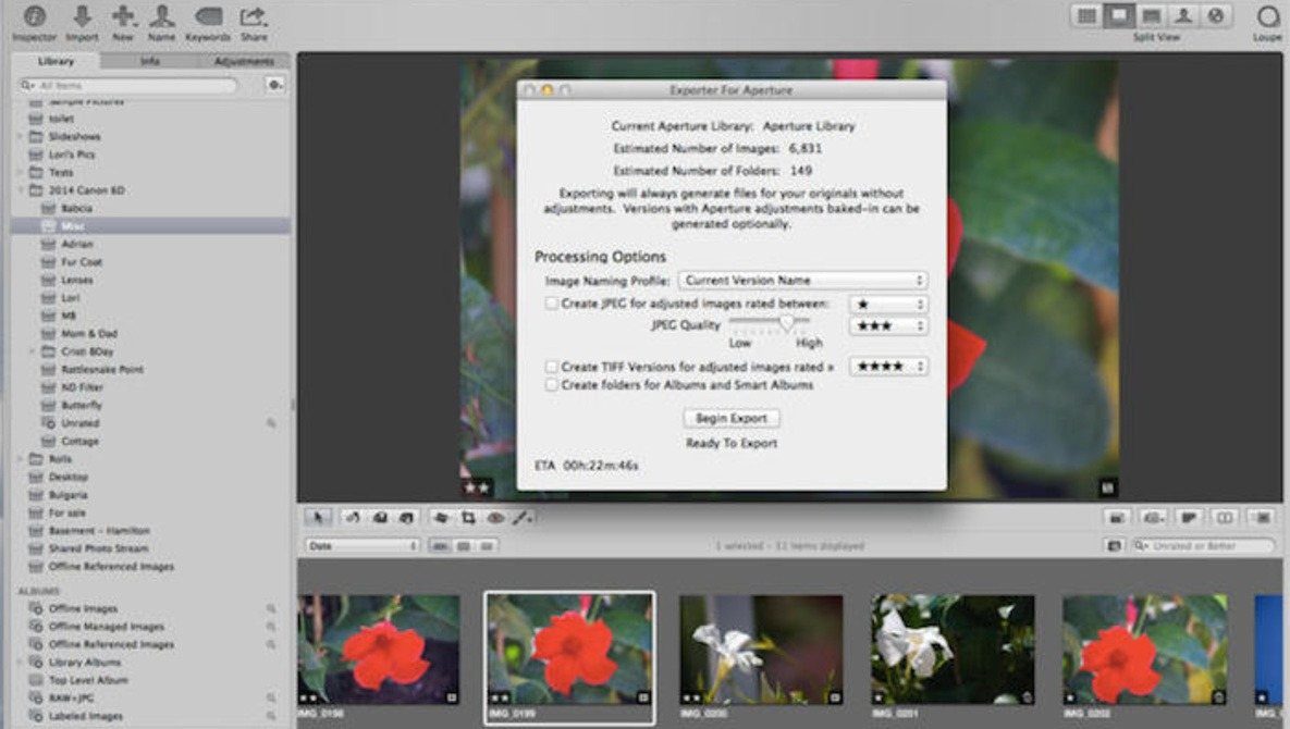 Move Your Image Library From Aperture to Lightroom With Just A Few Clicks