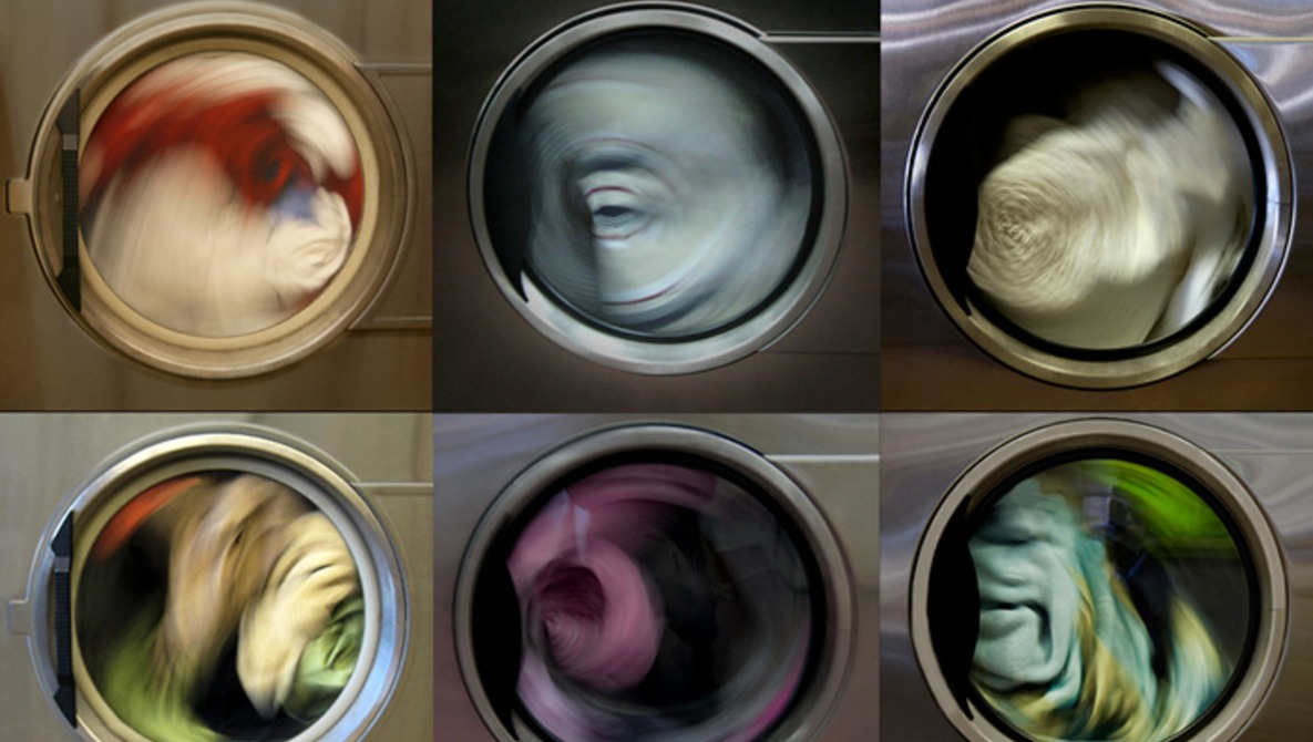 "The Serenity of Spinning Laundry Captured in Photo Series ""Revolutions"""